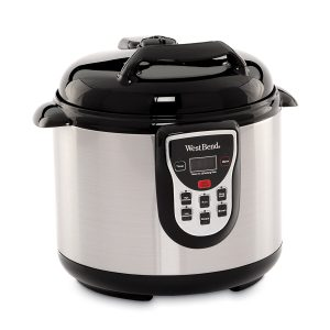 West Bend 82011 6-Quart Stainless Pressure Cooker